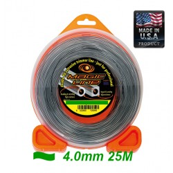 TRIMMER LINE  MAGIC WITH CARBON 4.0mm 25m