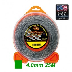 TRIMMER  MAGIC WITH CARBON SQUARE  4.0mm 25m