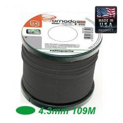 NAYLONFADEN VORTEX TRIMMER LINE OVAL 4.3mm 108m