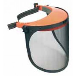 PROTECTIVE SAFETY VISOR WITH FACE SHIELD
