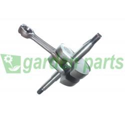 CRANKSHAFT FOR   EFCO 136 137 140 140S 141SP MT3700 MT400 MT4100SP