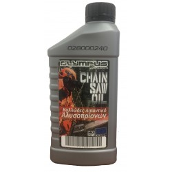 OLYMPUS CHAIN OIL AND SAW BLADE 1lt