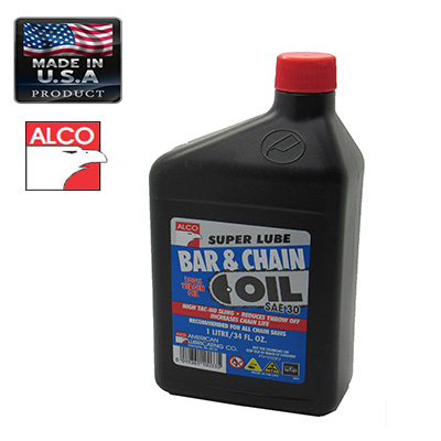 ALCO OIL BAR AND CHAIN FOR CHAINSAW 1LT GREASE & CHAIN LUBE