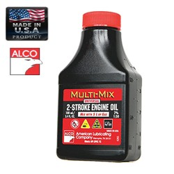 ALCO OIL TWO STROKE 100ml AMERICAN LUBRICATING