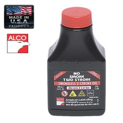 ALCO OIL NO SMOKE FOR TWO STROKE ENGINE 100ml AMERICAN LUBRICATING