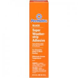 PERMATEX BLACK SUPER WEATHER - STRIP ADHHESIVE 147ml 81850