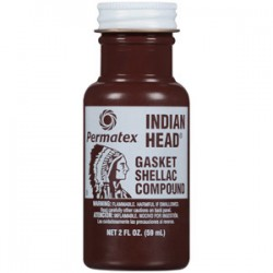 PERMATEX INDIAN HEAD GASKET SHELLAC COMPOUND 59ml 20539